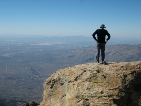 Me on Rincon Peak